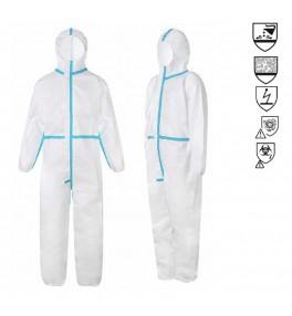 ชุด PPE Coverall ป้องกันสารเคมี และเชื้อโรค